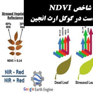 محاسبه شاخص NDVI با تصاویر لندست در گوگل ارث انجین | مدرسه سنجش از دور و جی ای اس